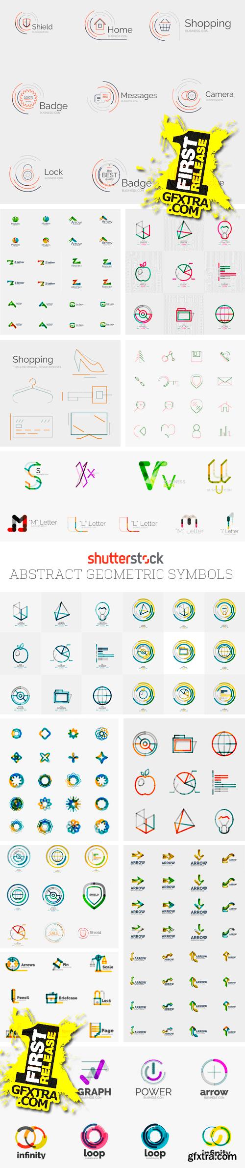 Amazing SS - Abstract Geometric Symbols, 30xEPS