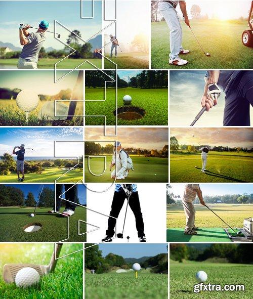 Stock Photos - Golf, 25xJPG
