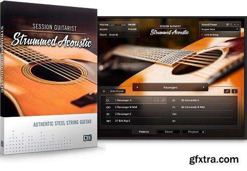 Native Instruments Session Guitarist Strummed Acoustic v1.1.0 KONTAKT-FANTASTiC