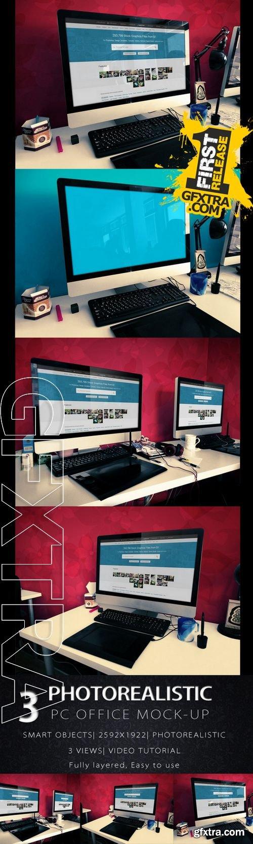 Office Mac Mock Ups - CM 163893