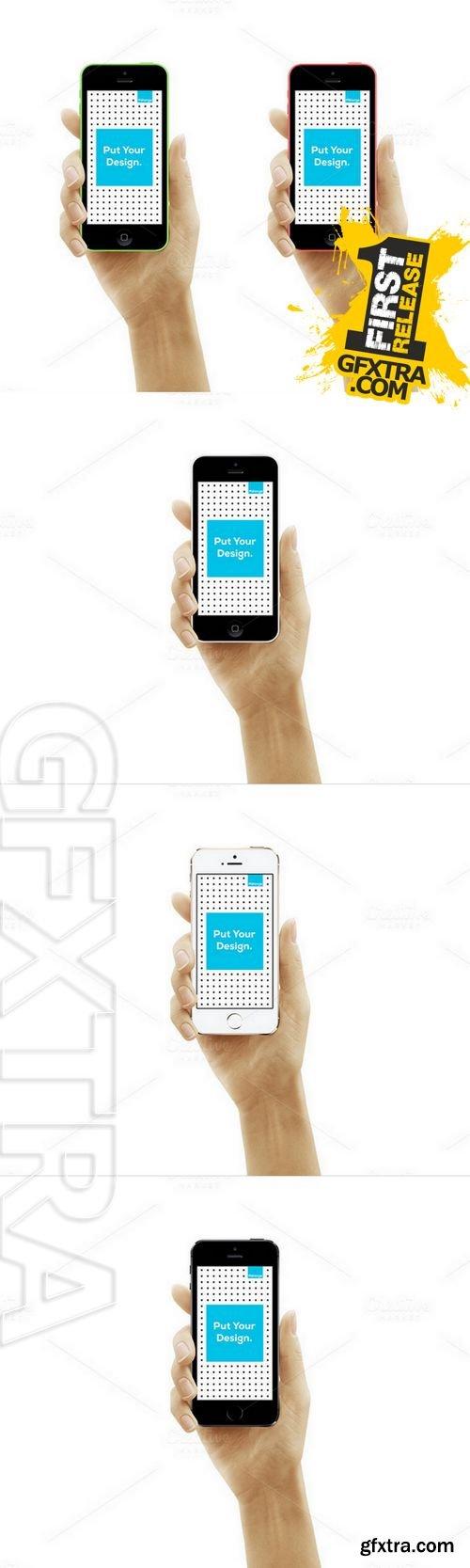 iPhone 5s-5c Mockup - CM 164133