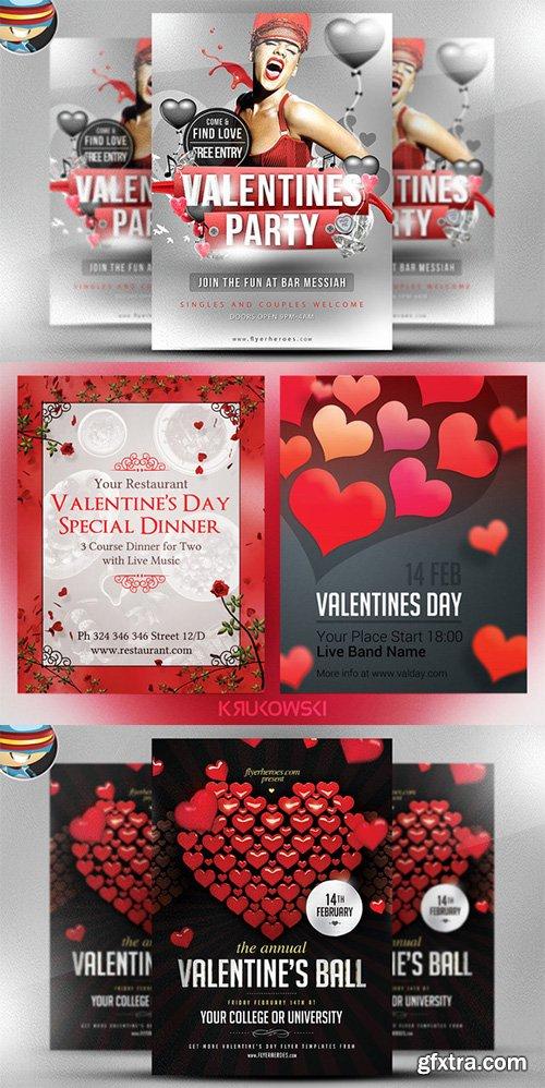 Valentines Premium Flyer Bundle