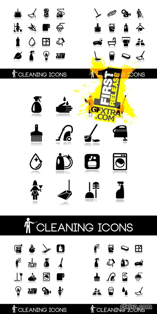 Vector - Cleaning Icons Set