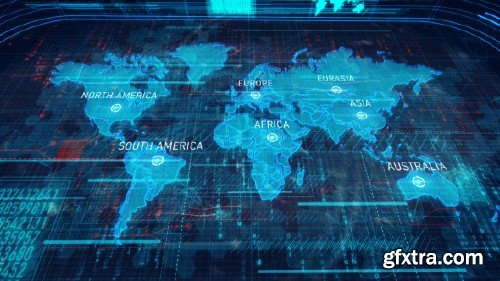 VideoHive - World Map 10052401