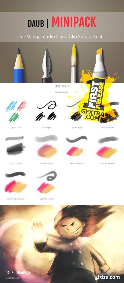 DAUB | MiniPack for Manga Studio 5 - CM 168168