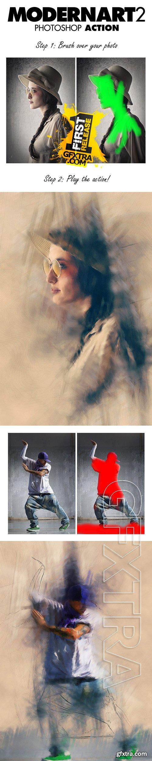 GraphicRiver - ModernArt 2 Photoshop Action 10195965