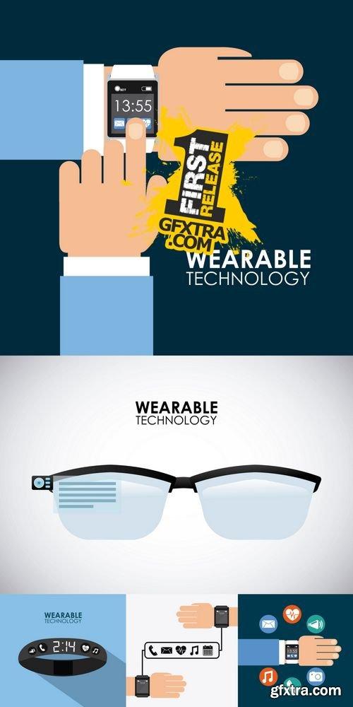 Vector - Wearable Technology 2