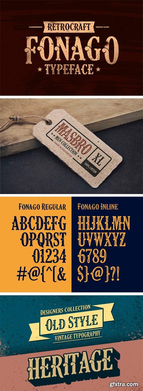 CM - Fonago Typeface