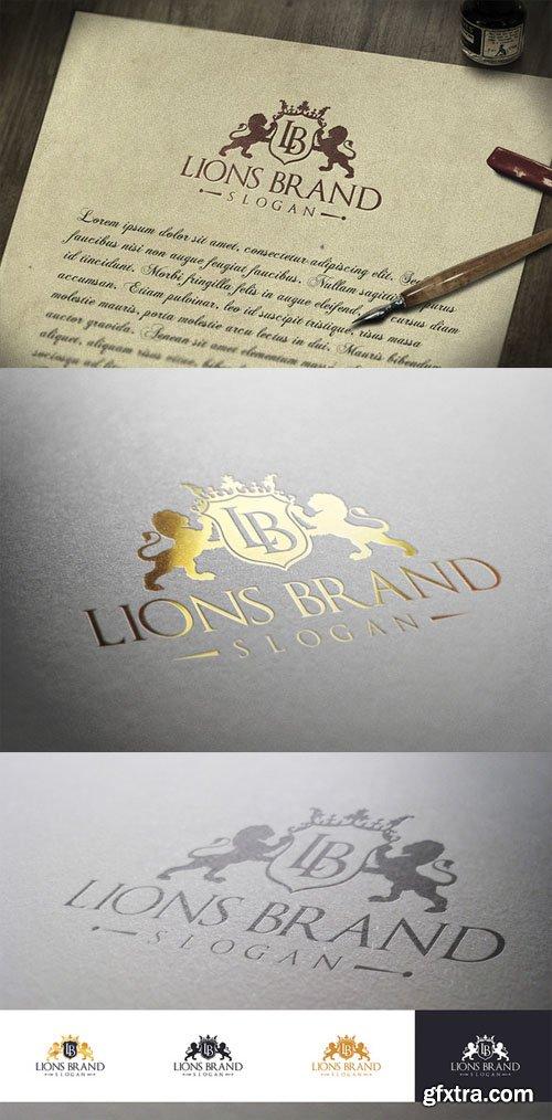 Lions Brand Logo - CM 24574