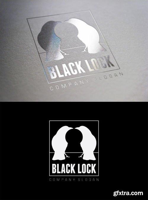 Black Lock Logo - CM 30587