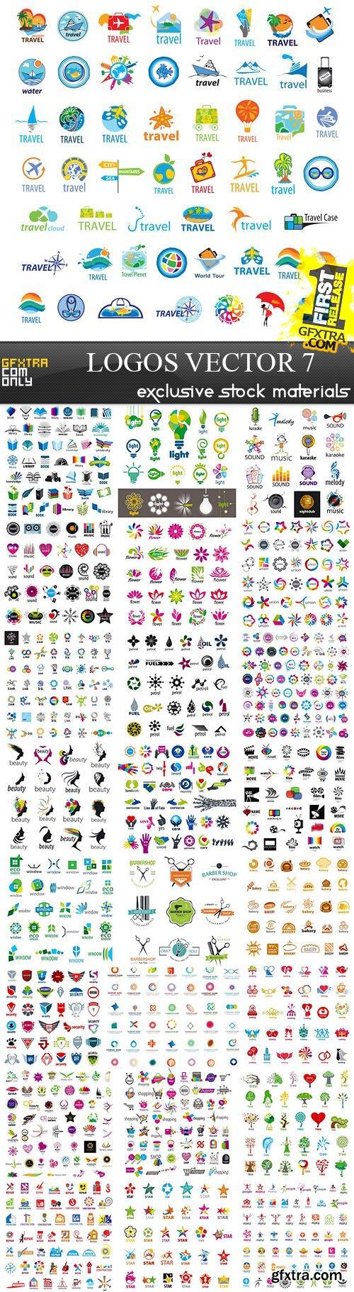 Logos - Vector Collection 7, 25xEPS