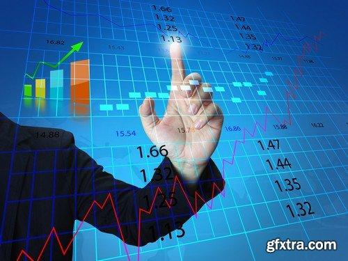Stock Photos - Broker, 25xJPG