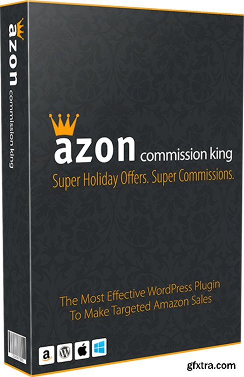 Azon Commission King v1.0 - Wordpress Plugin