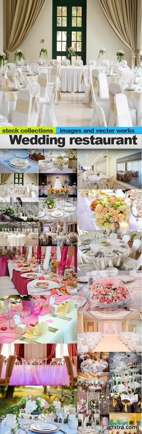 Wedding restaurant, 25 x UHQ JPEG