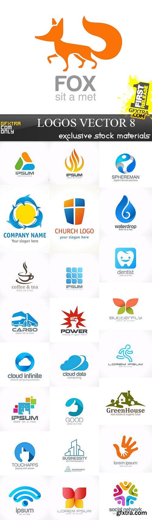 Logos - Vector Collection 8, 25xEPS
