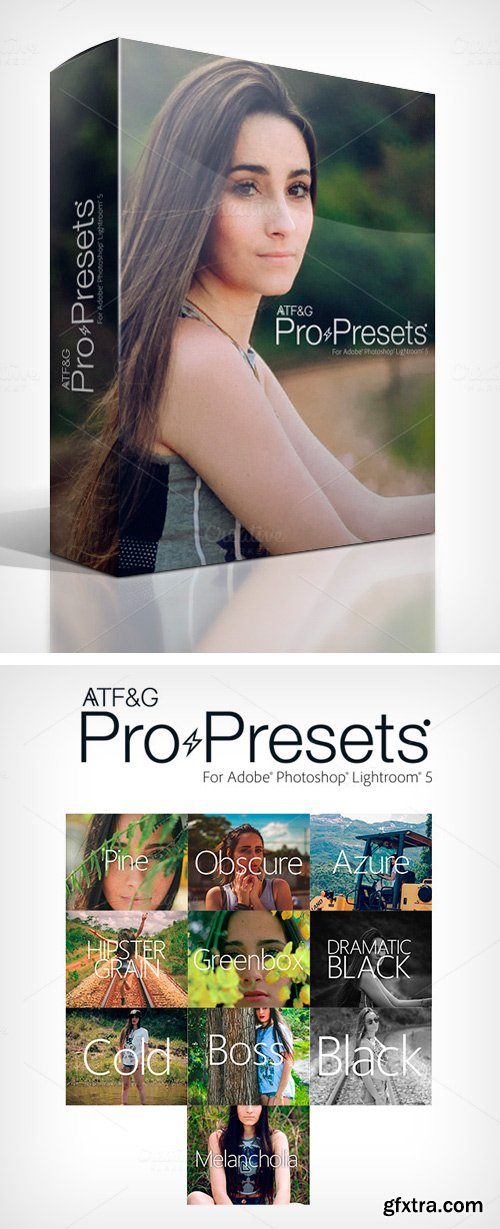 CM - ATF&G Pro Presets for Lightroom