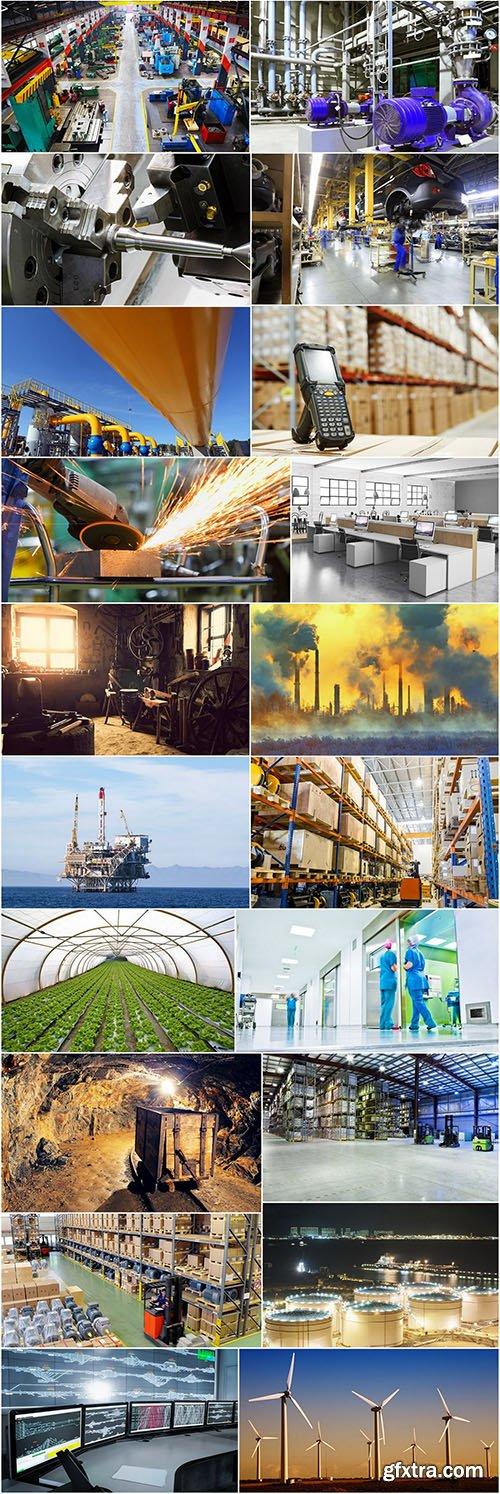 Industrial World - Photo Stock, 25xUHQ JPEG