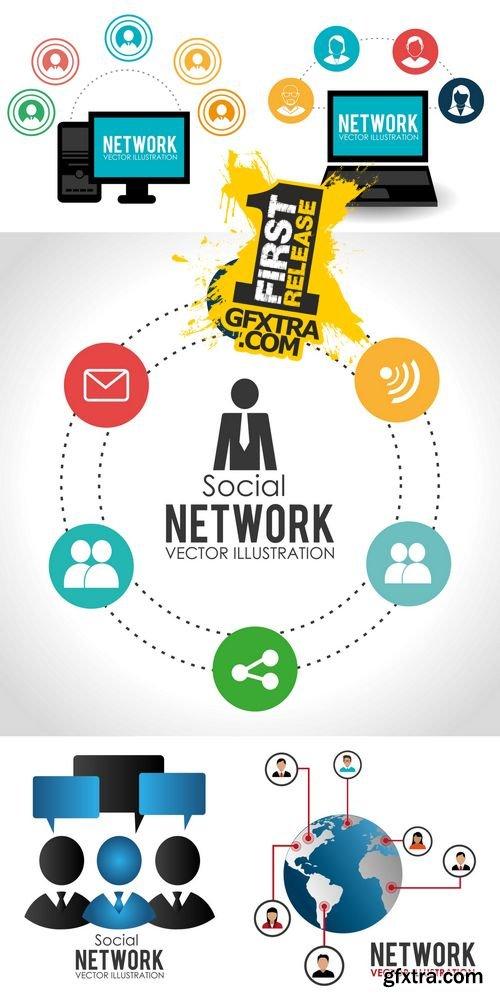 Vector - Social Network Design