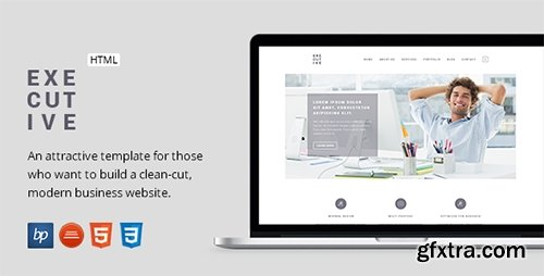 ThemeForest - Executive - Responsive Business HTML5 Template - RIP