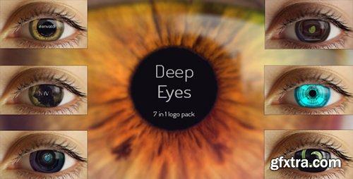 Videohive Deep Eyes | 7 in 1 Logo Pack 10147952