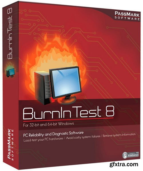 PassMark BurnInTest Pro 8.0 Build 1037 (x86/x64)