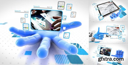 Videohive Valentines Catch Your Network 9128020