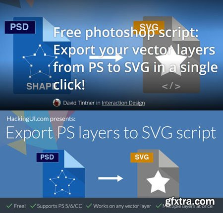 Export PS Layers to SVG 1.0 -  Photoshop Script