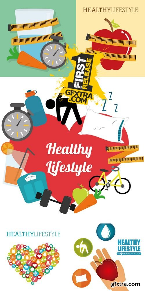 Vector - Healthy Lifestyle