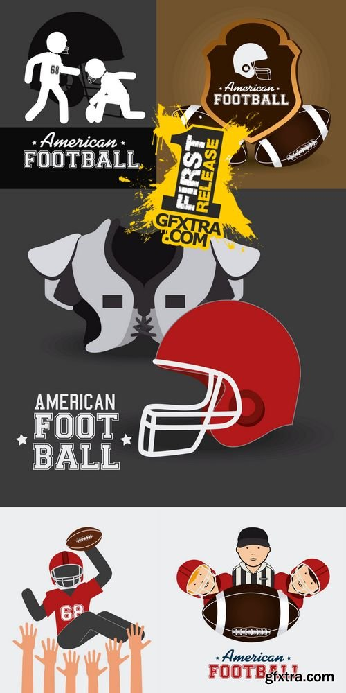 Vector - Sports Design - American Football 2