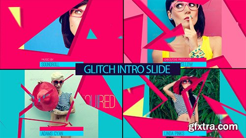 Videohive Glitch Intro Slide 8100106[