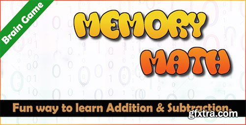 CodeCanyon - Memory Math - A Brain Training Game (Android)