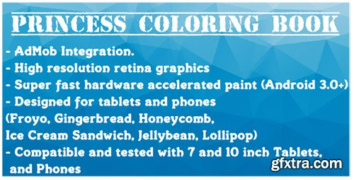 CodeCanyon - Princess Coloring Book With AdMob