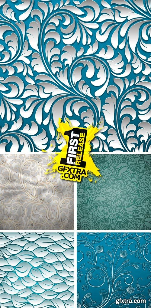 Amazing SS - Abstract & Seamless Patterns, 25xEPS