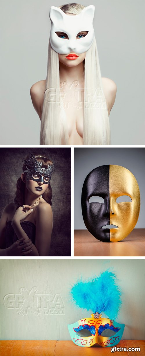 Amazing SS - Carnival & Venetian Masks, 25xJPGs