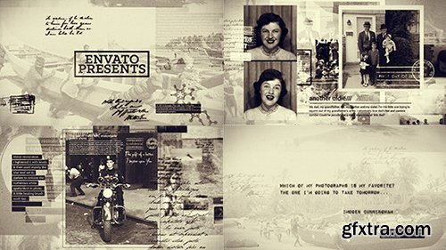 Videohive History in Photographs 9012226