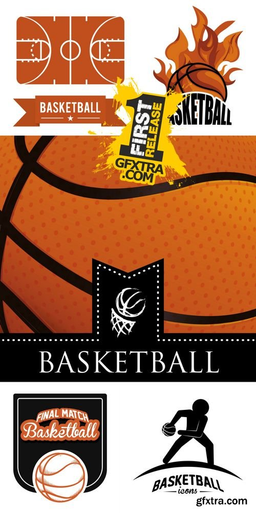 Vector - Basketball Sport