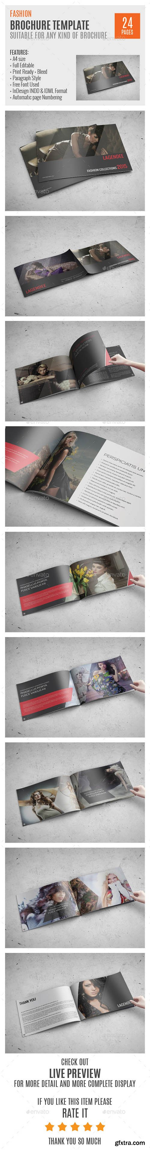 GraphicRiver Fashion A4 InDesign Brochure Template 0040 10374238