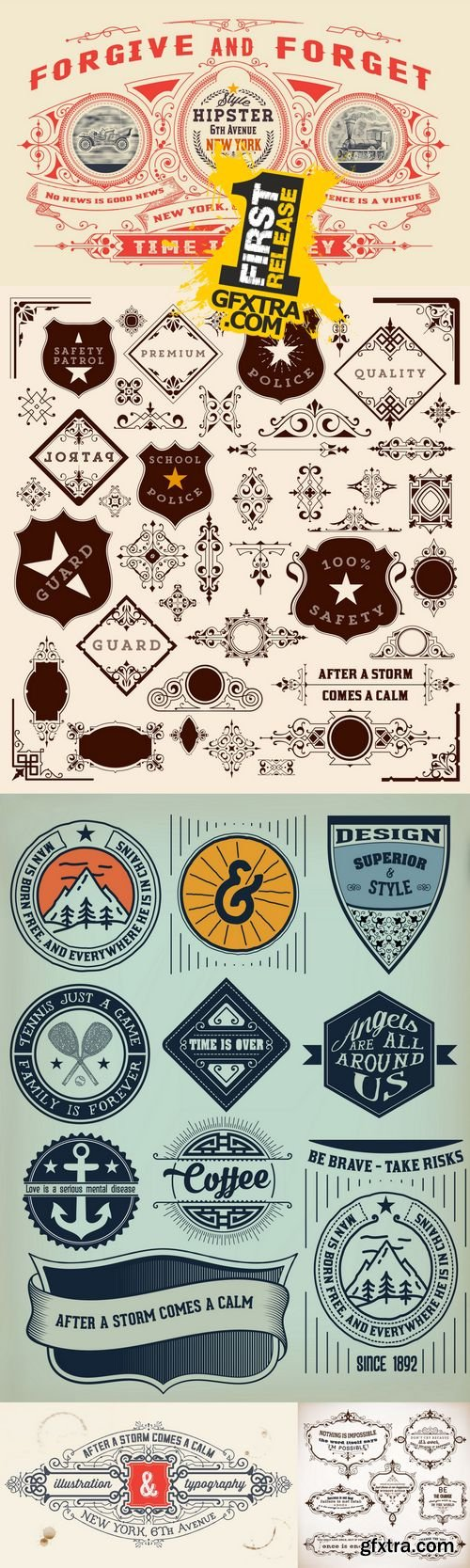 Vector - Vintage Design Elements