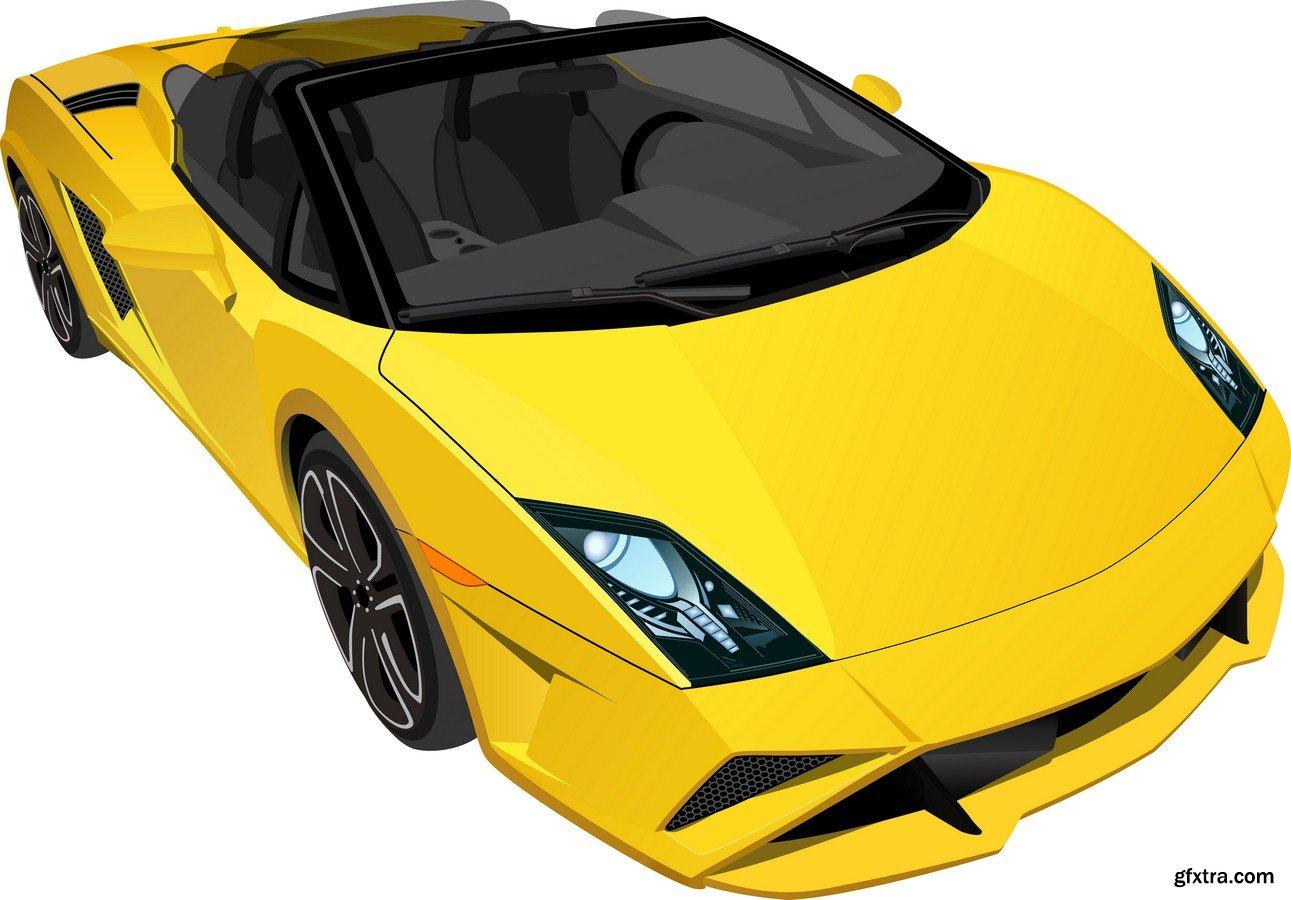 Sports car » Vector, Photoshop PSDAfter Effects, Tutorials, Template, 3D,