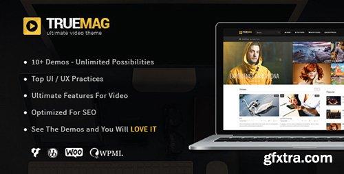 ThemeForest - True Mag v3.1.2 - Wordpress Theme for Video and Magazine