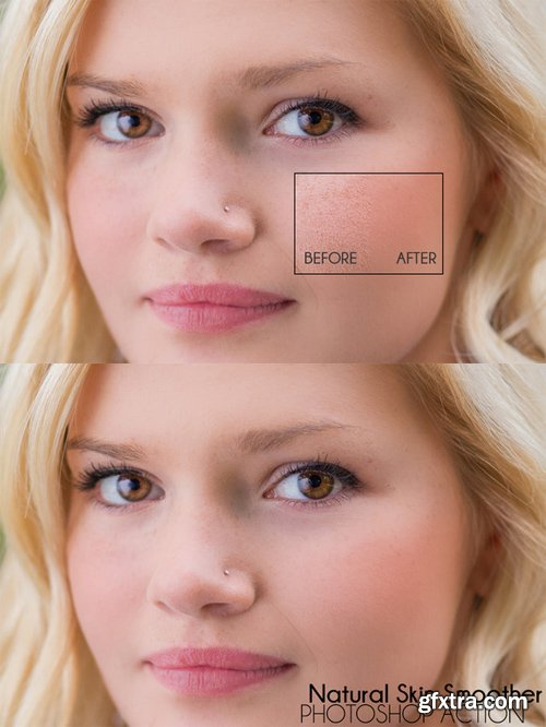 Natural Skin Smoother PS Actions