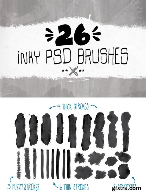 Inky ABR Brushes