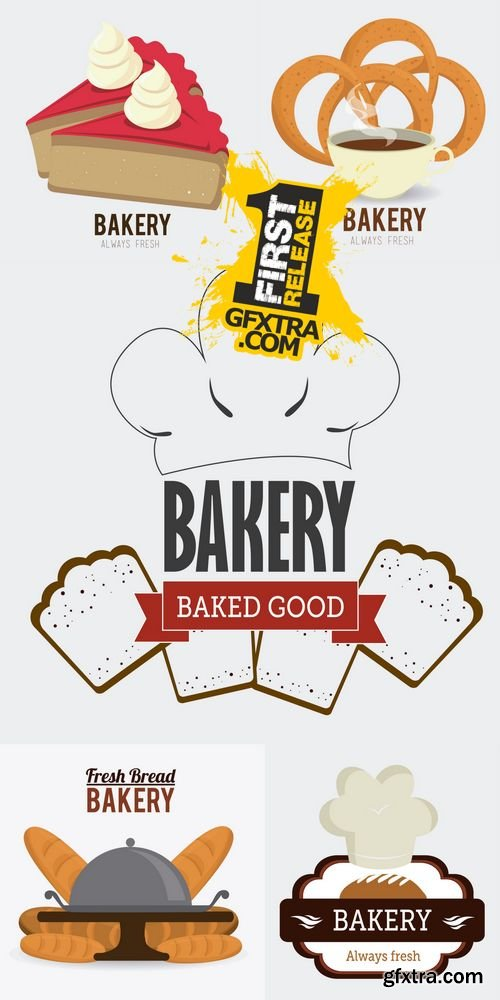 Vector - Bakery Design 2