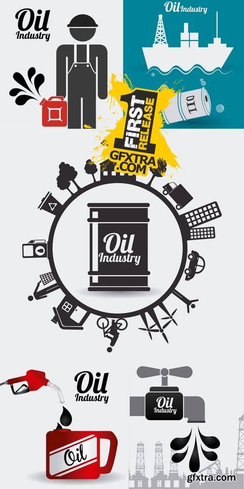 Vector - Industry Design - Oil