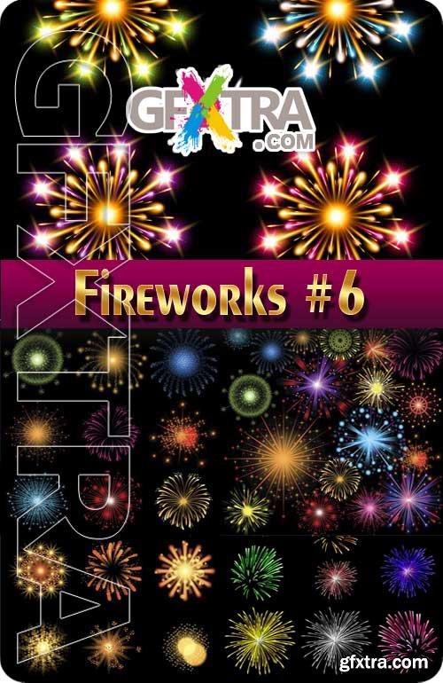 Fireworks #6 - Stock Vector