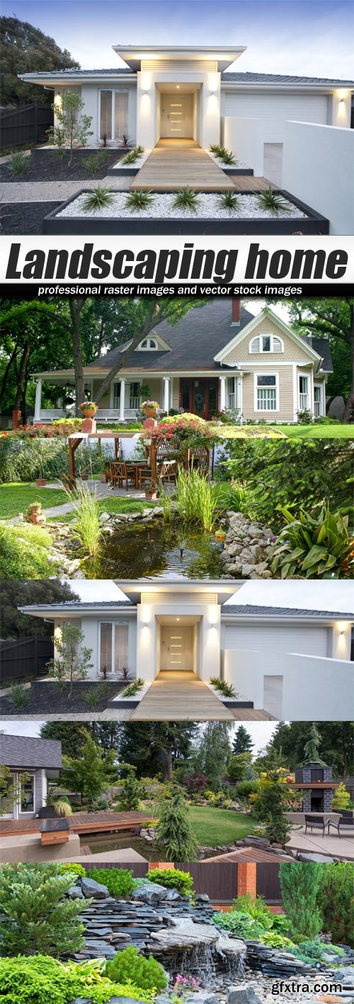 Landscaping home