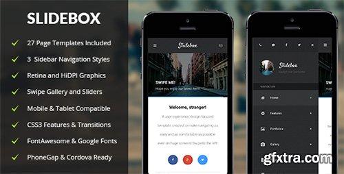 ThemeForest - Slidebox   Mobile & Tablet Responsive Template - RIP