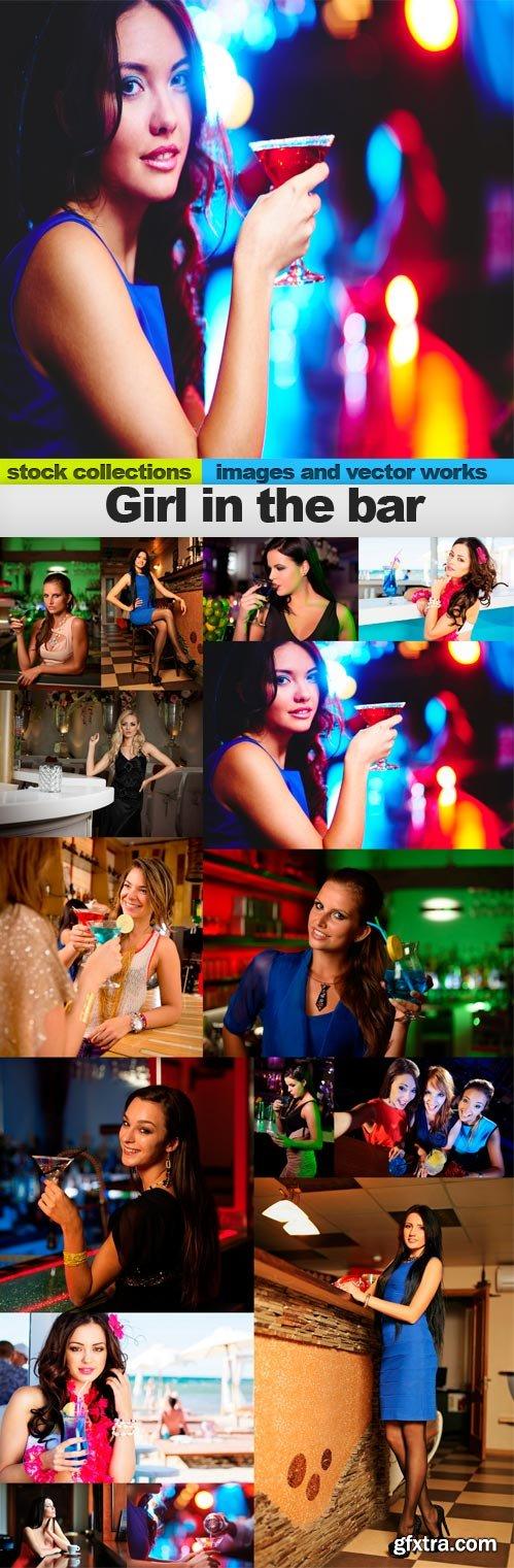 Girl in the bar,15 x UHQ JPEG
