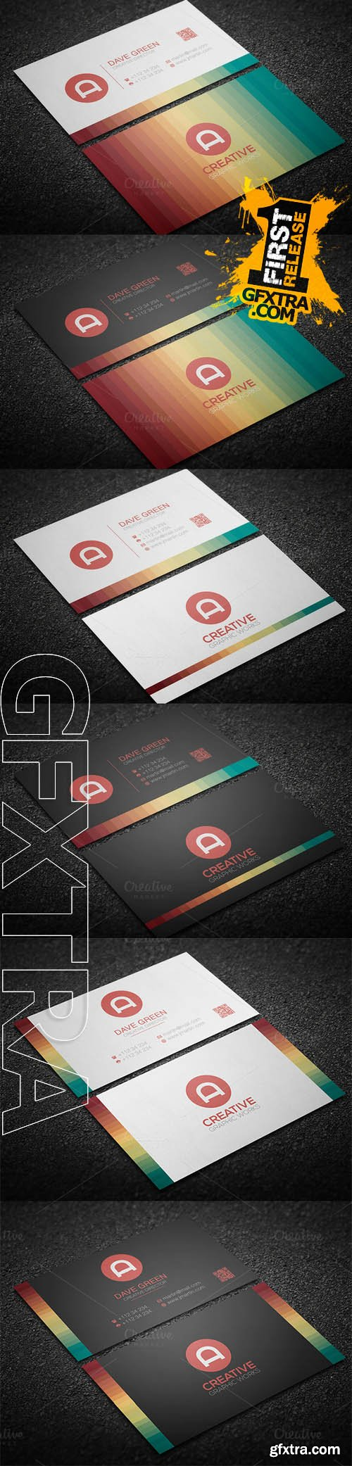 3 in 1 Clean Business Card - CM 190780