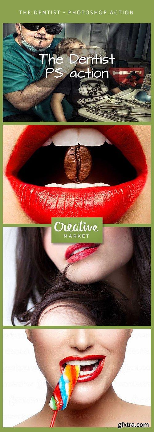 The Dentist - Photoshop action CM 59133